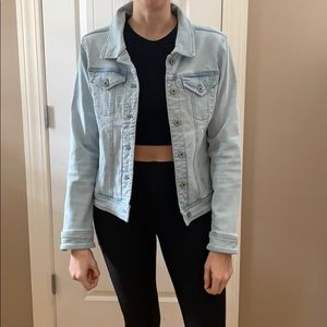 Light denim jacket. Size small